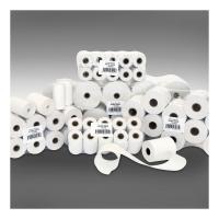 Rolka do pokladní a kalkulačiek, 57/50/12mm, biela, dĺžka 24m, (balenie 168ks)