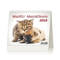 Maznáčikovia - české/slovenské týždenné riadkové kalendárium, 56 + 2 strán