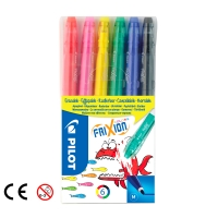 Zmazateľný popisovač Pilot Frixion, mix farieb, balenie 6 farieb