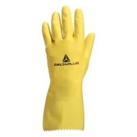 DELTAPLUS PICAFLOR VE240 Latexové rukavice, veľkosť 6, farba žltá