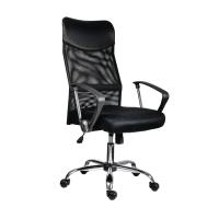 Kancelárska stolička Antares Tennessee s hojdacím mechanizmom, čierna