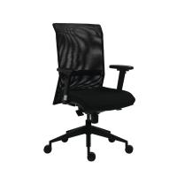 Kancelárska stolička Antares 1580 Syn Gala Net, čierna