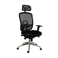Kancelárska stolička Antares Oklahoma PDH, čierna