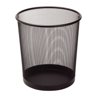 Drôtený odpadkový kôš SaKOTA 10 l, čierny