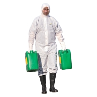 DELTAPLUS DELTATEK® 6000 DT215 Ochranná chemická kombinéza, typ 5/6, veľkosť XL