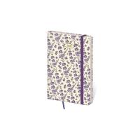Diár týždenný vreckový Vario s gumičkou - Lavender