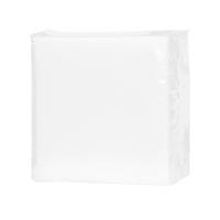 Servítky PrimaSoft biele, 33 x 33 cm, 100 ks