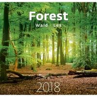 Forest/Les - mesačné medzinárodné kalendárium, 14 listov, 34 x 32,5 cm