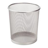 Drôtený odpadkový kôš SaKOTA 10 l, strieborný