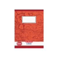 Školský zošit Herlitz A5/60 listov, rozdelený čiarami na tretiny, linajkový