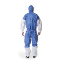 3M 4535 Ochranný odev, typ 5/6, veľkosť XL, biela/modrá