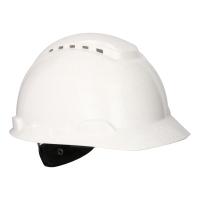 3M H-700 Vetraná ochranná prilba biela