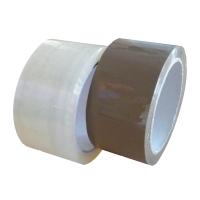 Baliace pásky, 48 mm x 60 m, transparentné