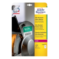 Avery ultra odolné etikety, model: L7913-10,rozmery: 99,1 x 42,3 mm,farba: biela