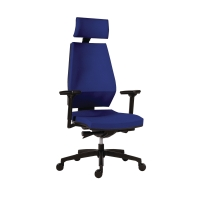 Kancelárska stolička Antares 1870 Syn Motion PDH modrá