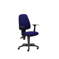 Kancelárska ergonomická stolička Pirx, modrá