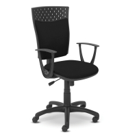 Kancelárska stolička Dekora, tmavosivá