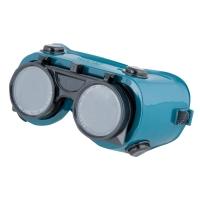 Zváračské ochranné okuliare, modré