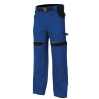 Montérkové nohavice do pásu, bavlna, veľkosť 48, modrá farba