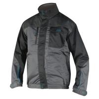 Montérková bunda PE/bavlna 52 šedá/čierna