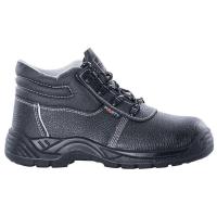 Bezpečnostná pracovná obuv S1P SRA PU2D podrážka, veľkosť 43