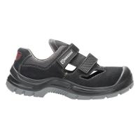 Bezpečnostný sandál S1 SRC reflexné pruhy, veľkosť 44