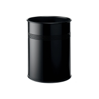 Kovový odpadkový kôš Durable 15 l čierny