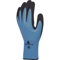 Zateplené rukavice Delta plus Thrym VV736, veľkosť 10, modro-čierne