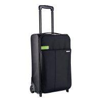 Leitz kufor na kolieskach Complete traveller kufrík čierny