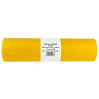 Vrecia na odpad 120 l, 70 x 110 cm, žlté, 25 ks