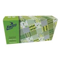 Papierové vreckovky v boxe Linteo Satin 100 ks