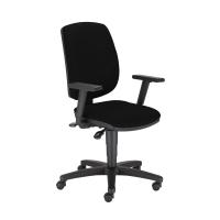 Kancelárska stolička Nowy Styl Drop Ergon-Up R19T, čierna