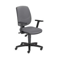 Kancelárska stolička Nowy Styl Drop Ergon-Up R19T, šedá