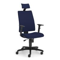 Kancelárska stolička Nowy Styl Troy, modrá
