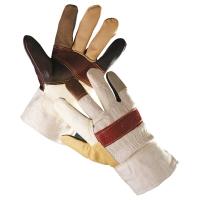 Zateplené rukavice kombinované, veľkosť 11