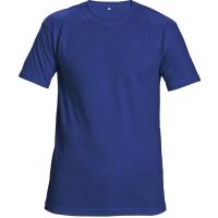 Unisexové tričko s krátkym rukávom, bavlna, veľkosť M, farba kráľovská modrá