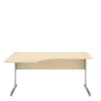 L-stôl Nowy Styl, 160x100x68x74cm, ľavostranný, odtieň javor