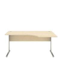 L-stôl Nowy Styl, 160x100x68x74cm, pravostranný, odtieň javor