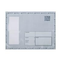 Plastová obálka na ceniny C5+ 195 x 255 mm