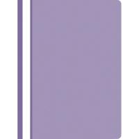 Nezávesný prezentačný rýchloviazač PP A4, farba fialová, 25 kusov