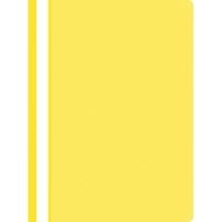 Nezávesný prezentačný rýchloviazač PP A4, farba žltá, 25 kusov