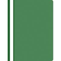 Nezávesný prezentačný rýchloviazač PP A4, farba zelená, 25 kusov
