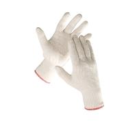 Textilné rukavice, bavlna, veľkosť 9, 12 párov