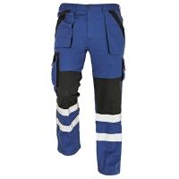 Nohavice do pása REFLEX, veľkosť 48, farba modrá/ čierna
