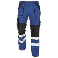 Nohavice do pása REFLEX, veľkosť 50, farba modrá/ čierna