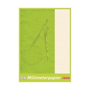 Blok milimetrový Herlitz, A4 25 strán