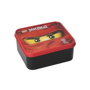 Box na desiatu Lego Ninjago, 160x140x65mm, červená