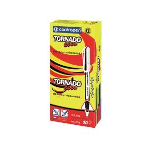 Pero Centropen 4775/10 Tornado cool, mix farieb, modrý atrament