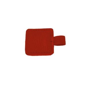 Pútko červené, samolepiace, 2 x 2 cm