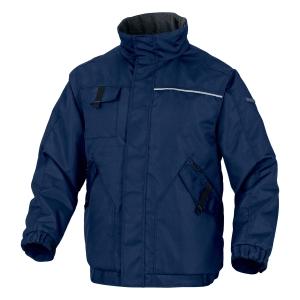 Zimná bunda Delta plus Northwood2, veľkosť XXL, námornícka modrá/kráľovská modrá